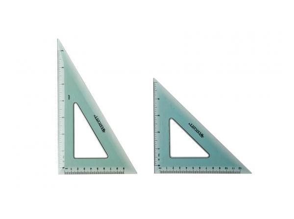 Large 30 ° / 60 °  &   45 ° triangles  ::|:: Groot 30°/60° & 45° driehoek